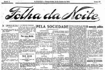 1921: Chapa Nilo-Seabra deve ser lançada para disputar eleição presidencial - Folha de S.Paulo