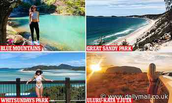 NSW Blue Mountains named Australia's most Instagrammable national park by MyProtein research - Daily Mail
