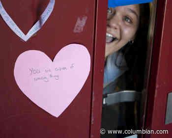 Prairie High School students use Inspire Week to uplift staff - The Columbian