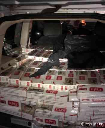 Uno carregado de cigarros é apreendido em Palotina - CGN