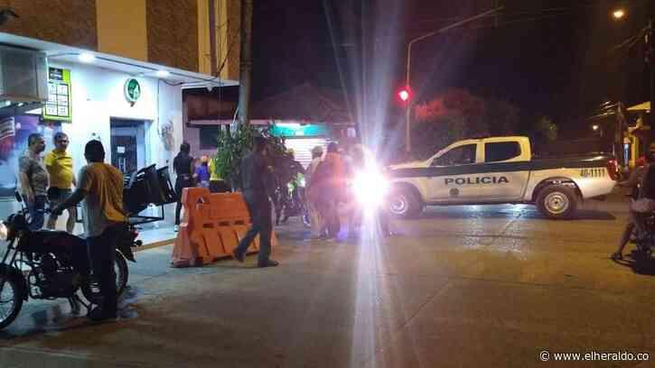 Policía fue atacado en un estadero público de Montelíbano, Córdoba - EL HERALDO