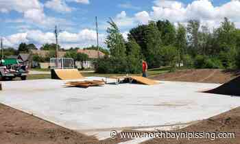 South River Skatepark grinding its way to completion - NorthBayNipissing.com