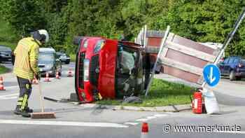 Zweimal Totalschaden: Wieder hat es bei Oberammergau Süd gekracht - Merkur Online