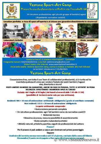 Valsabbia Vestone - Vestone Sport Art Camp - Valle Sabbia News