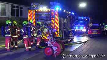 12.06.2021 - Velbert - Feuermeldung in einem Gewerbebetrieb: Halle stark verraucht - Heißgelaufene Maschine - Emergency-Report.de