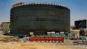 Shanghai Electric logra avances significativos en la torre CSP y en la planta de colectores parabólicos del parque solar Mohammed bin Rashid Al Maktoum