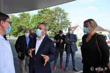 Oise. Xavier Bertrand en visite à Chaumont-en-Vexin - L'Impartial