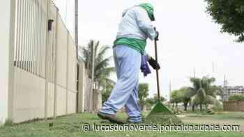 Lucas do Rio Verde: Publicado edital para licitação de limpeza urbana - ® Portal da Cidade   Lucas do Rio Verde