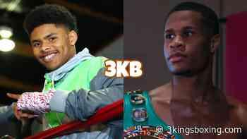 "Devin Haney To Shakur Stevenson: ""Great Performance In My Eyes"" - 3Kings Boxing"