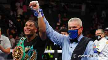 Teofimo Lopez: I'm a world champion - Devin Haney didn't fight like a title holder against Jorge Linares - DAZN News US