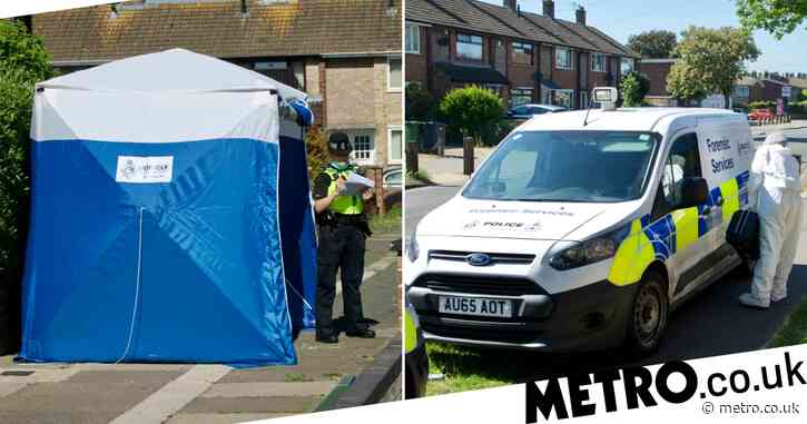 Woman, 68, 'strangled to death' and her house set on fire