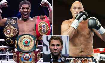 Eddie Hearn has NOT held talks over rescheduling mega-bout between Anthony Joshua and Tyson Fury