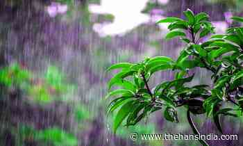 Rain alert to two Telugu states amid low pressure in Bay of Bengal - The Hans India