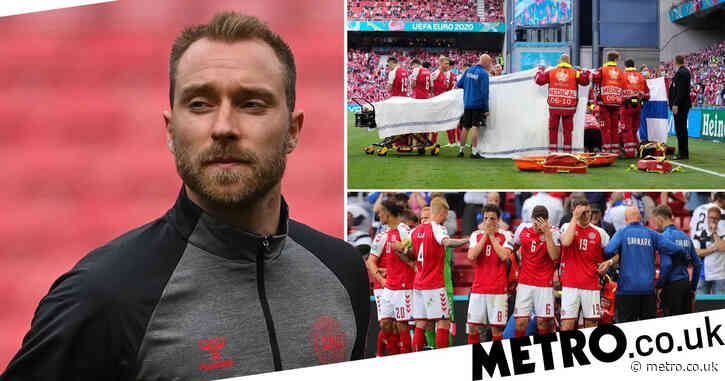 'Thank you, I won't give up' – Christian Eriksen releases first statement after cardiac arrest at Euro 2020