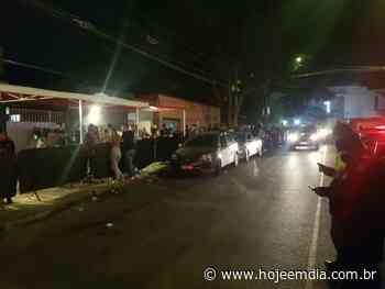 Bar com 200 pessoas é interditado na noite de inauguração em Contagem - Hoje em Dia