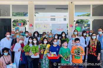 Putignano - I bambini colorano l'ospedale Covid con i loro disegni - Putignano Informatissimo