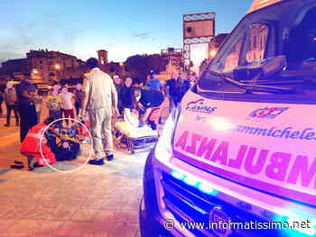 Putignano - Incidente tra minori in bici in Piazza A.Moro: uno finisce in ospedale - Putignano Informatissimo