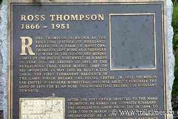 Two plaques stolen from Rossland heritage square – Trail Daily Times - Trail Times