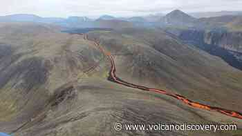 Fagradalsfjall volcano (Iceland) update: Lava cuts off access trail to eruption site - VolcanoDiscovery