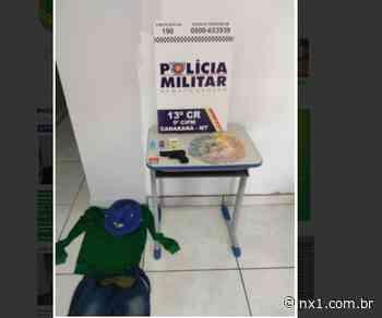 Policial Penal auxilia na prisão de suspeito de roubar relojoaria em Canarana; dinheiro foi recuperado - NX1