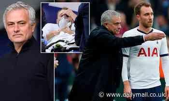 Euro 2020: Jose Mourinho reveals he cried and prayed for Christian Eriksen after cardiac arrest
