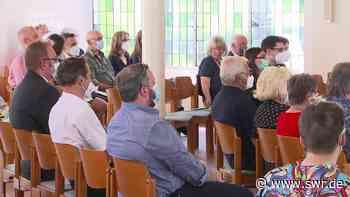 Mahnmal für die Opfer in Pirmasens eingeweiht - SWR