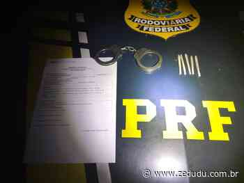 Altamira: PRF prende mulher com mandado de prisão em aberto por homicídio e incêndio - Blog do Zé Dudu