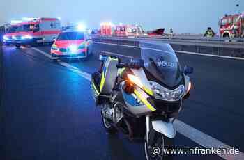 Schwerer Verkehrsunfall auf A3 bei Marktheidenfeld wegen Platzregen: Gaffer behindern Einsatz - inFranken.de