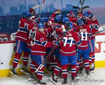 Underdogs once again, Canadiens face tough test against top-ranked Golden Knights