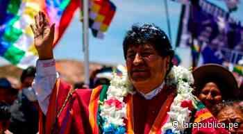 Evo Morales: Perú, Chile y Colombia se rebelan contra el neoliberalismo - LaRepública.pe