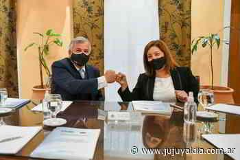 Proyecto termosolar-fotovoltaico. Morales y Carreras firmaron un acuerdo marco - Jujuy al día