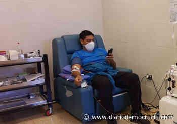 """Aseguran que en el Distrito solo dona sangre el 1% de la población"""" - Diario Democracia"""