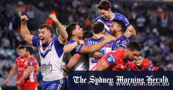 Is there hope for the Bulldogs? Consultant Hansen arrives to see rare Canterbury win