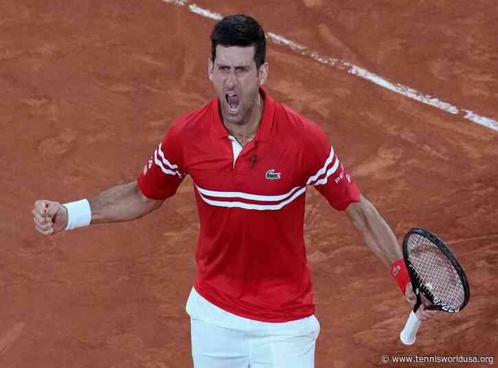 Coach Marian Vajda: Beating Rafael Nadal gave Novak Djokovic lots of confidence