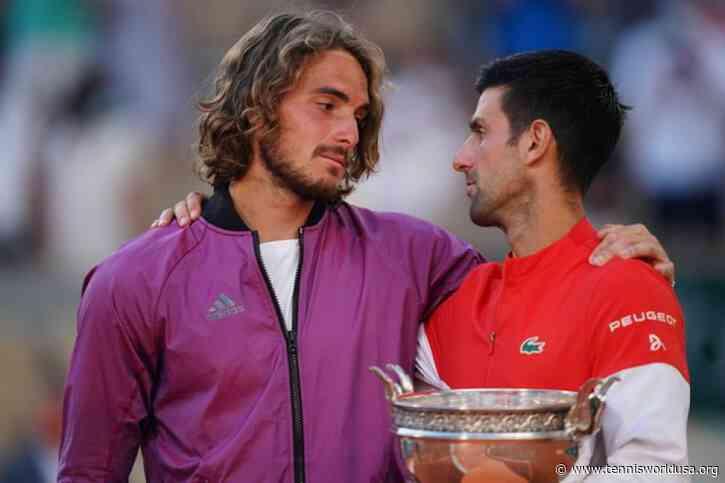 Stefanos Tsitsipas: 'Novak Djokovic returned from the locker room as different..'