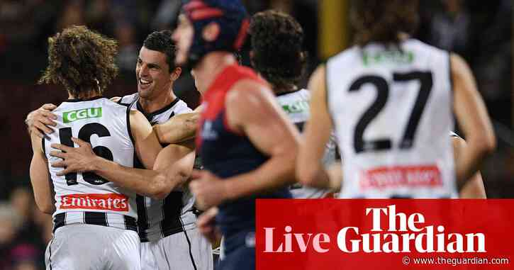 AFL 2021 round 13: Collingwood Magpies beat Melbourne Demons – as it happened