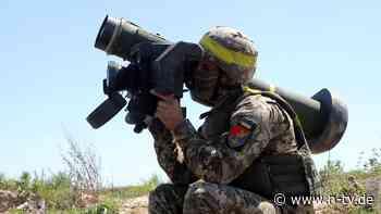 Sechs Tote bei Kämpfen in Donezk: USA senden Ukraine weitere Militärhilfe - n-tv NACHRICHTEN