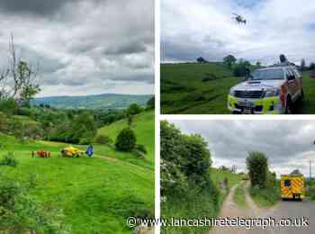 Climber airlifted to hospital after falling down quarry close to Pendle Hill