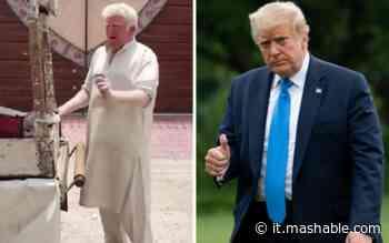 Hanno trovato il sosia di Trump: è un albino pakistano che vende gelati - Mashable Italia