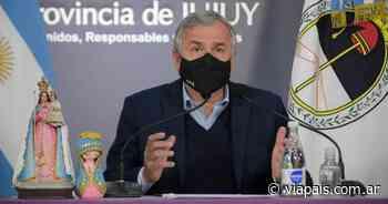 Morales ratificó la decisión de sostener la normalidad en Jujuy - Vía País