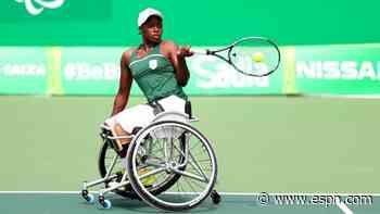SA wheelchair tennis star Montjane: Wimbledon is my Paralympics warm-up