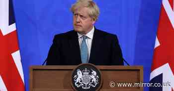 Boris Johnson to give No10 press conference on lockdown rules at 6pm tonight