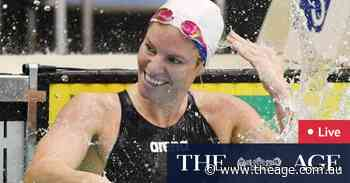 2021 Australian Swimming Trials LIVE updates: Titmus, McKeon and McKeown all back in action