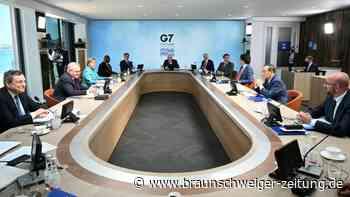 G7-Staaten bekennen sich zu Kampf gegen Klimawandel