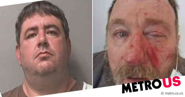 Man jailed for 10 years for beating shopper who complained his face mask wasn't on right