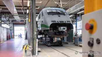 Krefeld: Hier werden alte ICE-Züge fit für die Zukunft gemacht - BILD