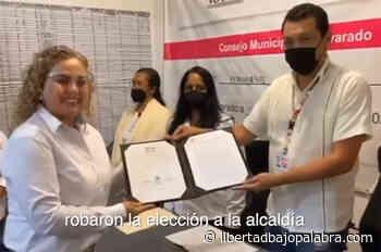 """Veracruz, fraude electoral. En Alvarado, Pedro Ramón Delfín pasó de funcionario del OPLE a """"mapache electoral"""". Con total descaro apoyó a Morena - Libertadbajopalabra.com"""