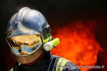 Près d'Yvetot, le garage d'un particulier en feu : une vingtaine de pompiers mobilisés - Paris-Normandie