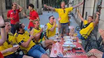Eurocopa 2021   ¡Bailando la Macarena! Los suecos se lo pasan en grande en Sevilla - Eurosport