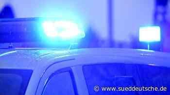 Mann bedroht Familie und flüchtet vor Polizei - Süddeutsche Zeitung